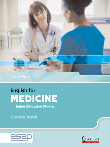 9781859644423: English for Medicine Course Book + CDs (English for Specific Academic Purposes)