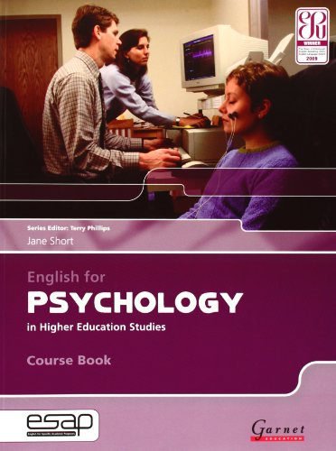 9781859644461: English for Psychology Course Book + CDs