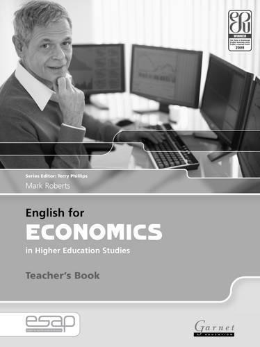 9781859644492: English for Economics in Higher Education Studies Teacher Book