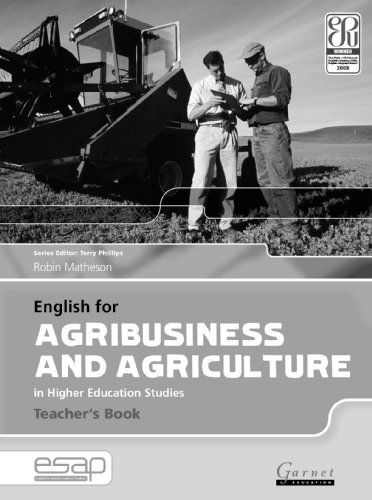 9781859644515: English for Agribusiness and Agriculture in Higher Education Studies - Teacher's Book