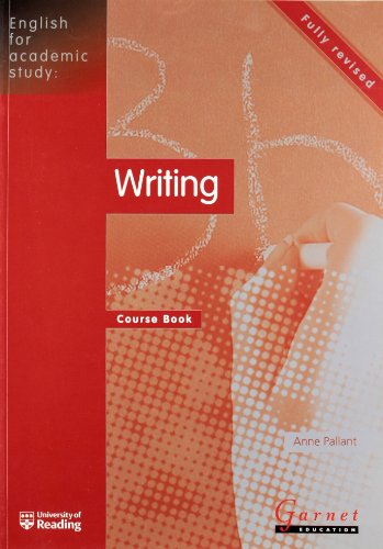 9781859644850: English for Academic Study: Writing Course Book - Edition 2