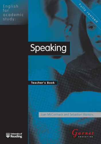 9781859645000: English for Academic Study - Speaking Teacher Book - Edition1