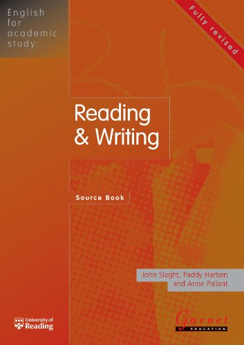 9781859645185: English for Academic Study - Reading and Writing Source Book- Edition 1