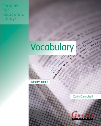 9781859645512: EAS Vocabulary Study Book (English for Academic Study)