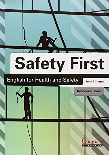 9781859645536: Safety First: English for Health and Safety Resource Book with Audio CDs B1