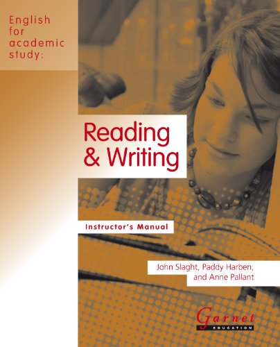 9781859645741: Reading and Writing (English for Academic Study)