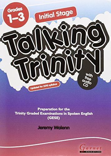 9781859646182: Initial Stage: Preparation for the Trinity Examinations: Grades 1-3 (Talking Trinity)