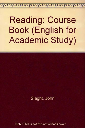 9781859648360: Reading: Course Book (English for Academic Study)