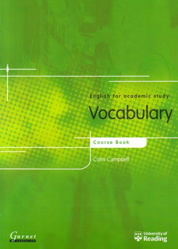 Vocabulary: Course book with answer key (English: Campbell, Colin