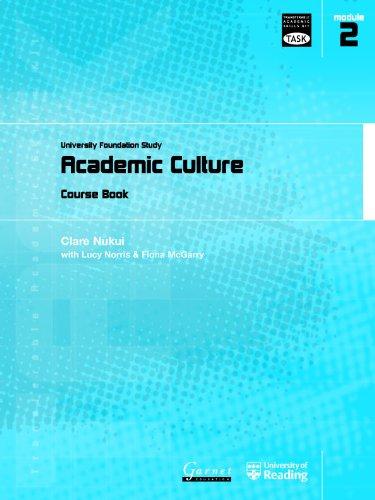 9781859649169: Academic Culture: University Foundation Study Course Book (Transferable Academic Skills Kit (TASK))