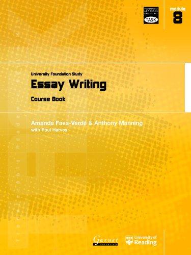 9781859649220: Essay Writing: University Foundation Study Course Book (Transferable Academic Skills Kit (TASK))