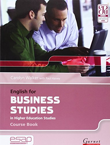9781859649367: English for Business Studies Course Book + CDs (English for Specific Academic Purposes)