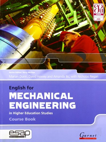9781859649398: English for Mechanical Engineering in Higher Education Studies
