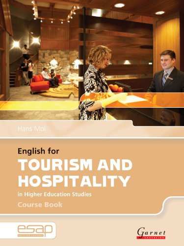 9781859649428: English for Tourism and Hospitality Course Book + CDs (English for Specific Academic Purposes)