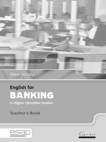 9781859649435: English for Banking Teacher Book