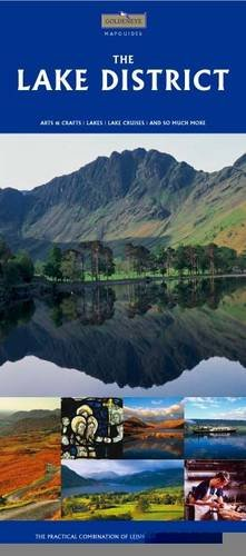 Lake District Map and Travel Guide: William Fricker