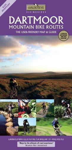 Dartmoor: Mountain Bike Routes 1:37K (Goldeneye Bikinguides): Al Churcher; William Fricker