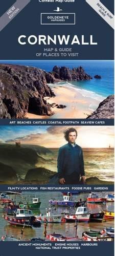Cornwall Map & Guide (Beach & Surf Guide (Goldeneye) (Goldeneye Mapguides): William Fricker