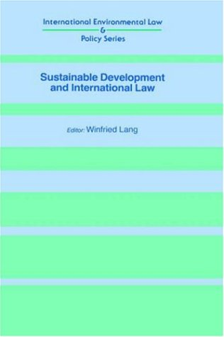 9781859661796: Sustainable Development and International Law (International Environmental Law & Policy)