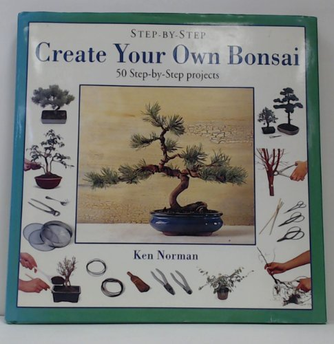 9781859672136: Create Your Own Bonsai (Step-by-Step) (English and Spanish Edition)