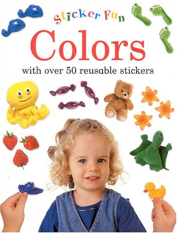 9781859677704: Colors: Sticker Fun: With Over 50 Reusable Stickers