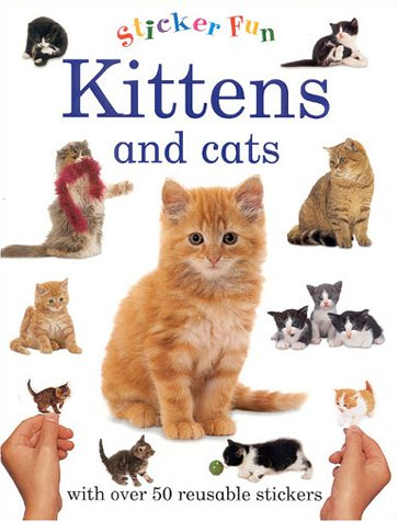 9781859679999: Kittens and Cats (Sticker fun)