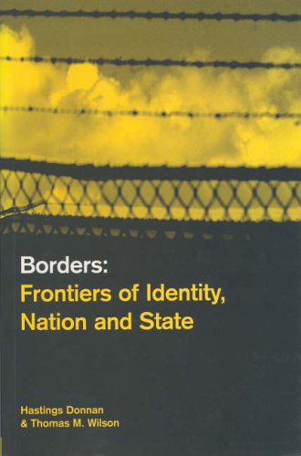 9781859732410: Borders: Frontiers of Identity, Nation and State