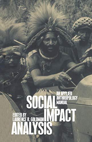 9781859733875: Social Impact Analysis: An Applied Anthropology Manual
