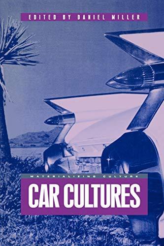 9781859734070: Car Cultures (Materializing Culture)