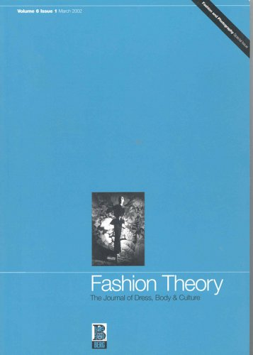 Fashion Theory: Volume 6, Issue 1: The