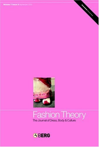Fashion Theory: Fashion Under Fascism: The Journal