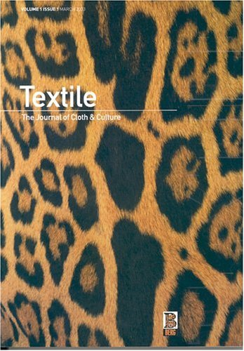 9781859737507: Textile, Volume 1, Issue 1: The Journal of Cloth and Culture