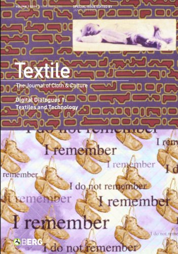 9781859737644: Textile, Volume 2, Issue 3: The Journal of Cloth and Culture: Special Issue on Digital Dialogues: Textiles and Technology
