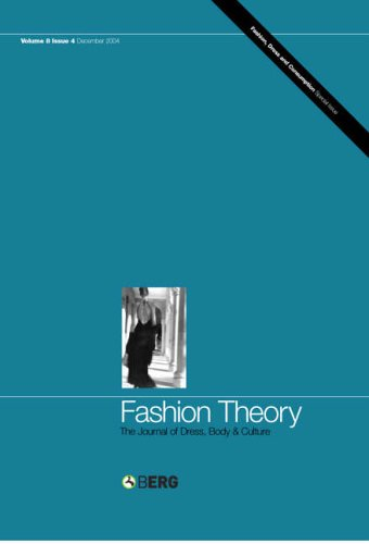 Fashion Theory: Volume 8, Issue 4: The