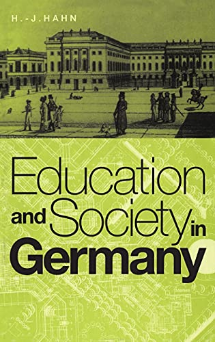 9781859739129: Education and Society in Germany