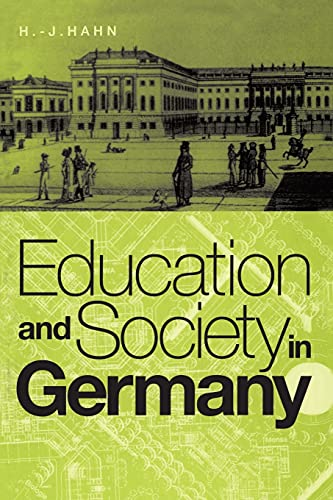 9781859739174: Education and Society in Germany
