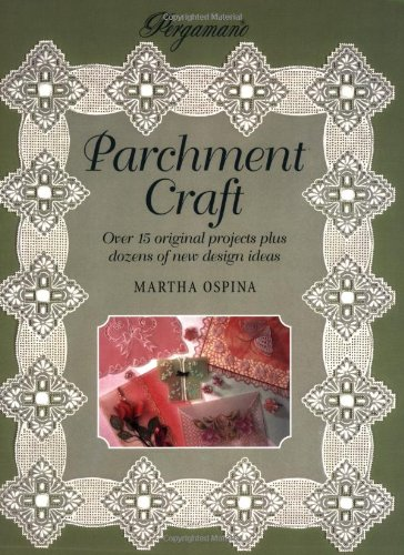 9781859740828: Pergamano Parchment Craft (Step-by-step Crafts)