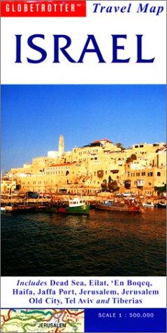 9781859747605: Israel Travel Map