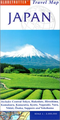 9781859748114: Japan (Globetrotter Travel Map)