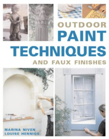 9781859749227: Outdoor Paint Techniques and Faux Finishes