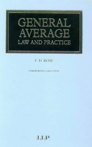 General Average - Law and Practice (1859781586) by Francis Rose