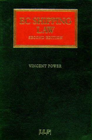 9781859781784: EC Shipping Law (Lloyd's Shipping Law Library)
