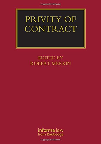 9781859785980: Privity of Contract: The Impact of the Contracts (Right of Third Parties) Act 1999 (Lloyd's Commercial Law Library)