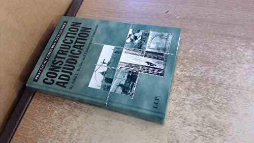 9781859786000: Construction Adjudication: A Practical Guide (Practical Construction Guides)