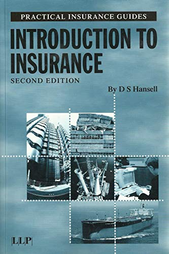 Introduction to Insurance (Practical Insurance Guides): Hansell, D.S.