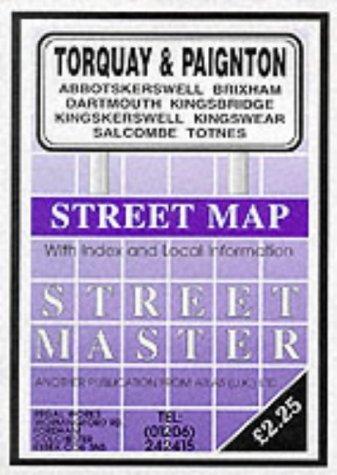 9781859821008: Torquay, Paignton, Totnes, Dartmouth, Kingsbridge, Brixham, Salcombe, Kingkerswell, Kingswear, Abbotskerwell (Streetmaster Street Maps)