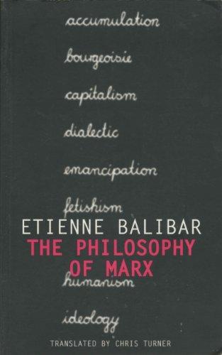 9781859840467: The Philosophy of Marx