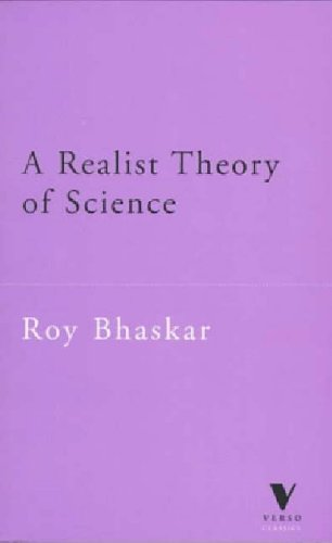 9781859841037: A Realist Theory of Science (Verso Classics)
