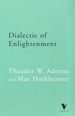 9781859841549: Dialectic of Enlightenment (Verso Classics)