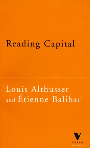 9781859841648: Reading Capital (The Verso Classics Series)